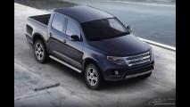 Nova Ranger 2012? Projeção mostra como pode ser o visual da nova geração da pick-up