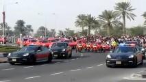 Vídeo: Desfile exibe as novas viaturas