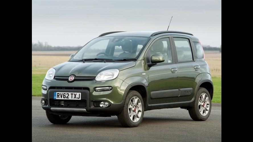 Fiat Panda terá versão crossover para brigar com Nissan Qashqai