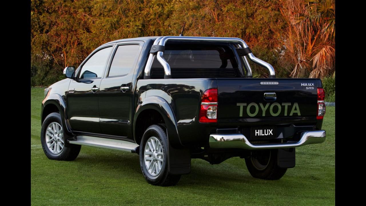Nova Toyota Hilux será lançada em novembro na Argentina