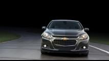 De cara nova: Chevrolet Malibu ganha reestilização na linha 2014