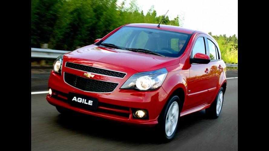 Chevrolet Agile 2013 chegará com opção de câmbio automatizado Easytronic e sutis retoques visuais