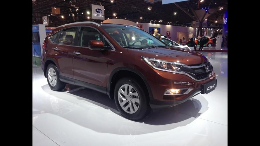 Salão SP: Honda CR-V reestilizado chega no próximo semestre
