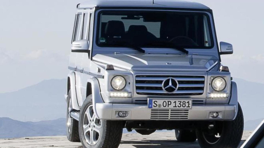 2013 Mercedes G-Class facelift revealed