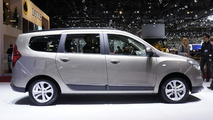 Dacia Lodgy MPV live in Geneva 08.3.2012