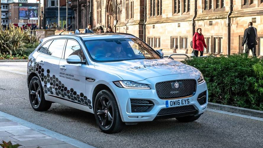 Self-driving Jaguars have been sent to Coventry –for testing