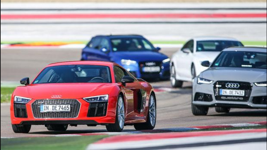 Audi Sport, il trattamento speciale per i bolidi più estremi di Ingolstadt [VIDEO]