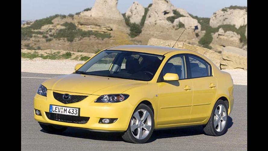 Neue Mazda-3-Limousine: Dreier mit vier Türen für fünf Leute