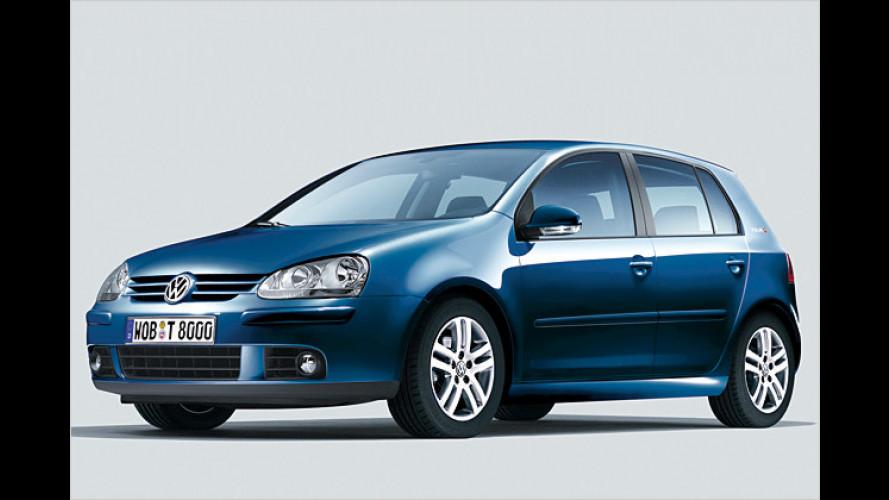 Neue Sondermodelle für Volkswagen Polo, Golf, Golf Plus