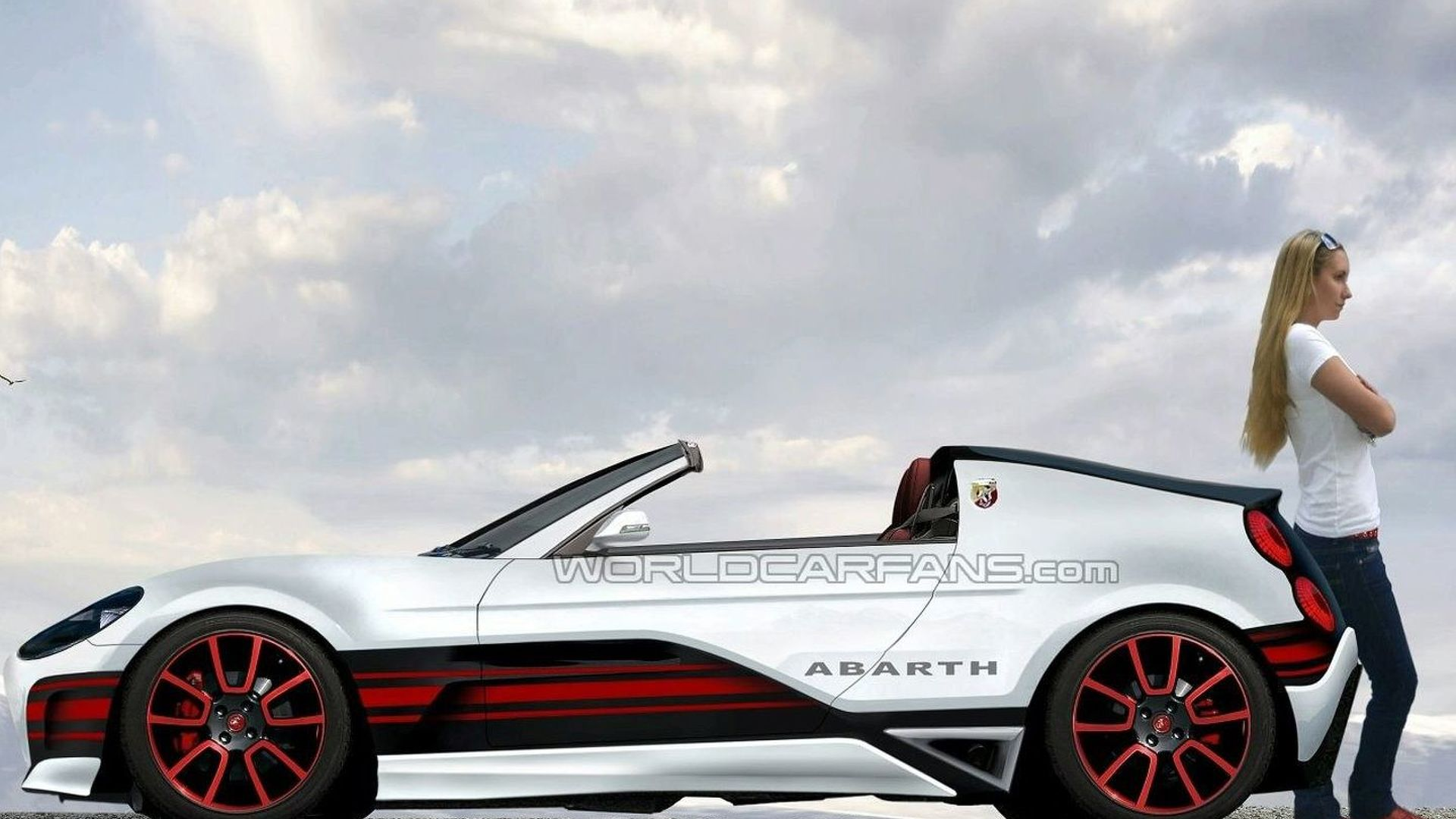 Abarth confirm two-seater coupe - rendered