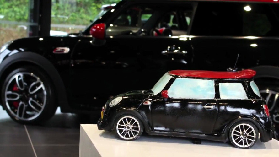 Radio Controlled Mini Cooper Cake Redefines Fast Food