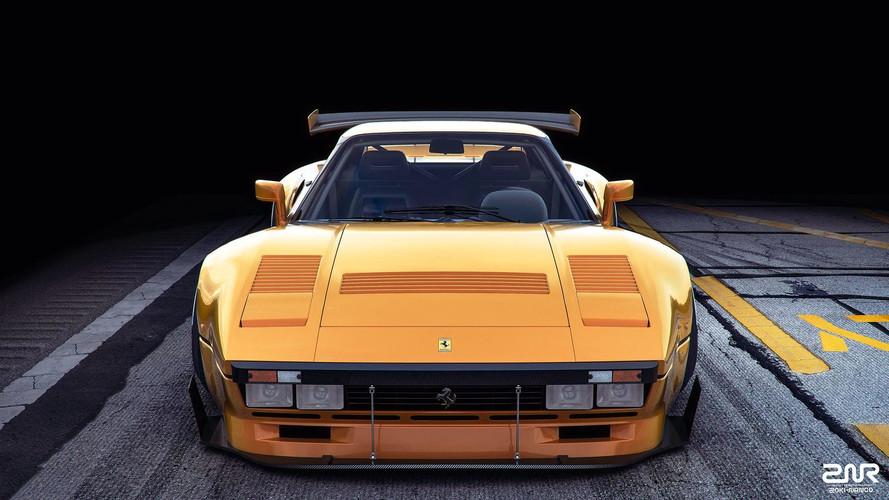 Ferrari 288 GTO R Render