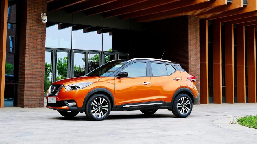 Nissan Kicks estreia na China com motor 1.5 de 124 cv