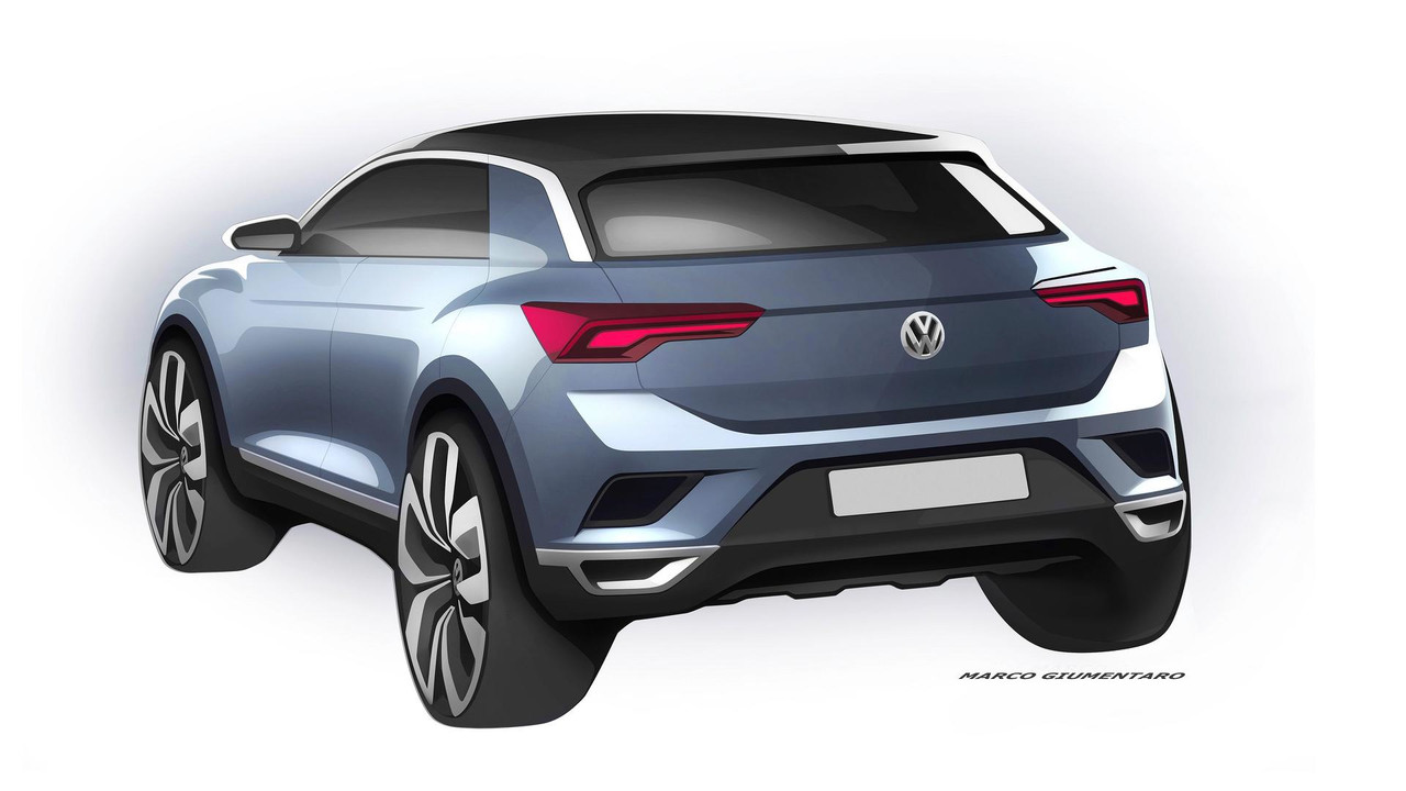 2018 VW T-Roc teaser image