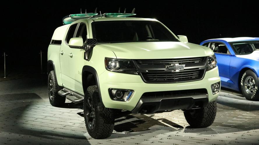 Chevrolet ve Hurley, plaja özel bir Colorado yaptı