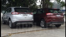Flagra! Novo Ford Edge enfim está pronto para a estreia no Brasil