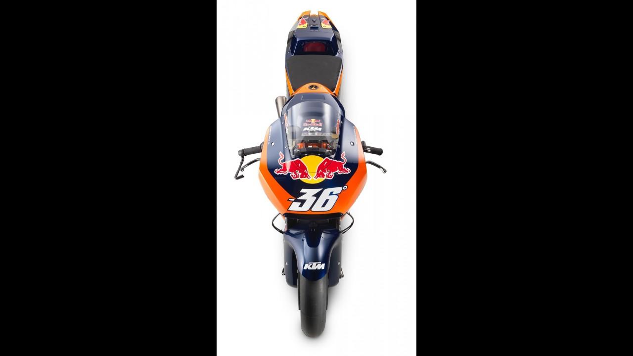 Esta é a KTM RC16 que vai correr na Moto GP a partir do próximo ano