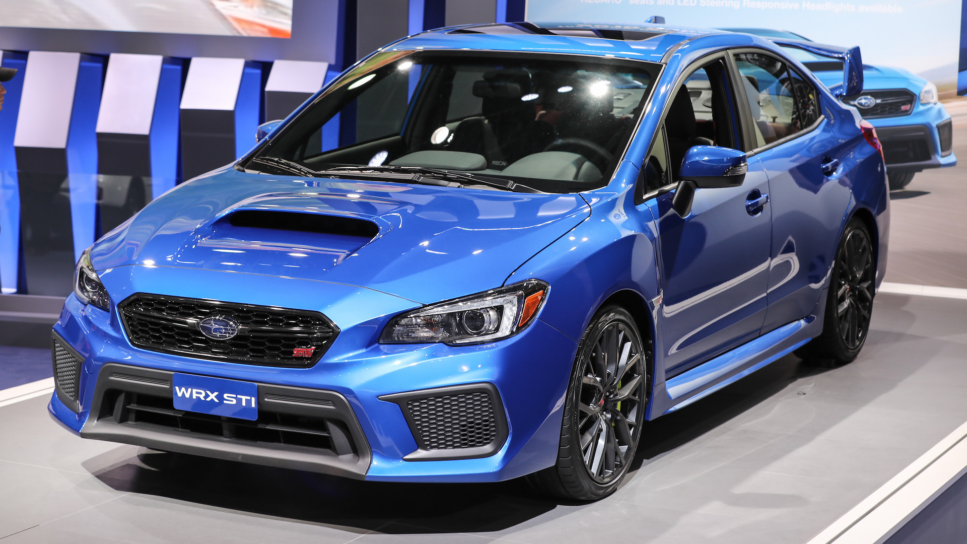 refreshed subaru wrx and sti start 340 more than last year. Black Bedroom Furniture Sets. Home Design Ideas