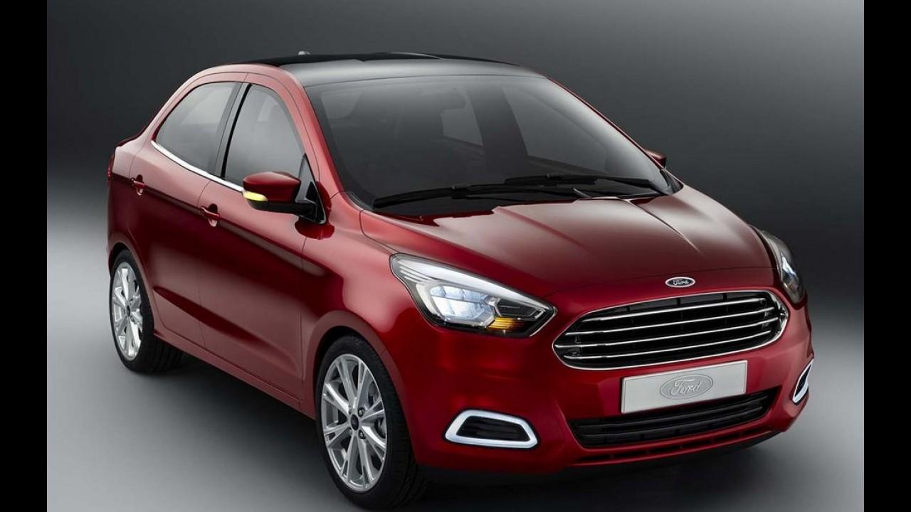 Ford Figo: Ka e Ka+ indianos terão motor 1.2 com comando variável