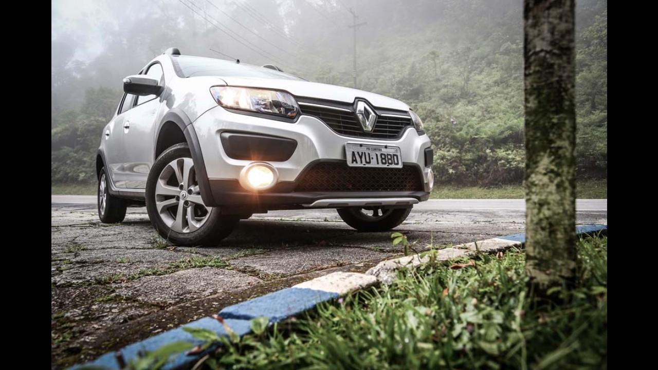 """Sandero """"turbina"""" participação recorde da Renault de 7,3% no 1º semestre"""