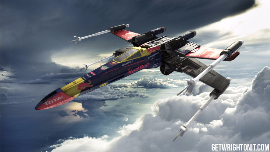 Star Wars X-Wing is oddly cool in F1 colours
