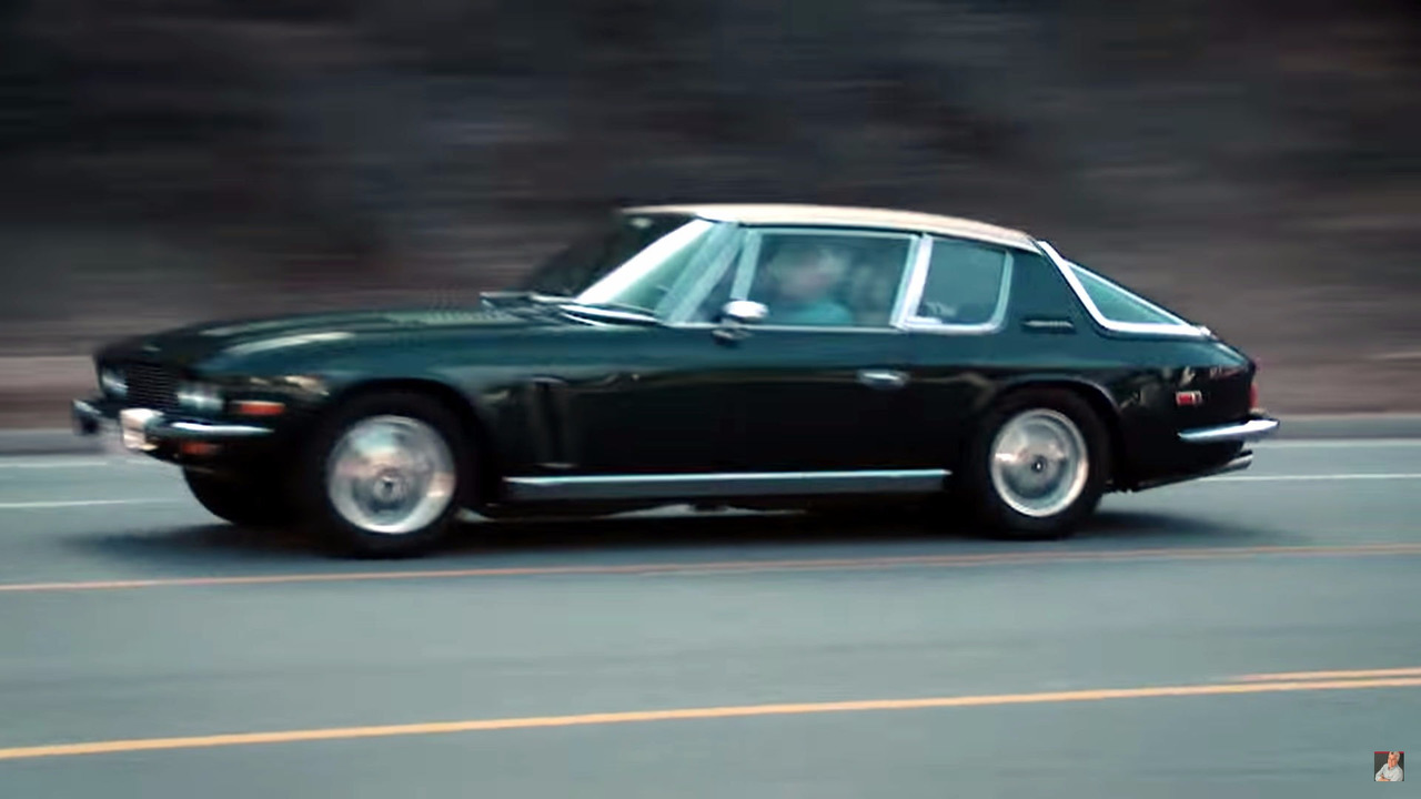 Jay Leno Takes The Gorgeous Jensen Interceptor For A Spin