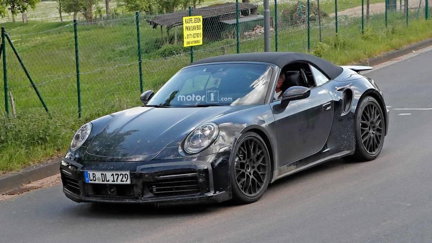 Porsche 911 Turbo Cabriolet Spied Preparing For Topless Speeding