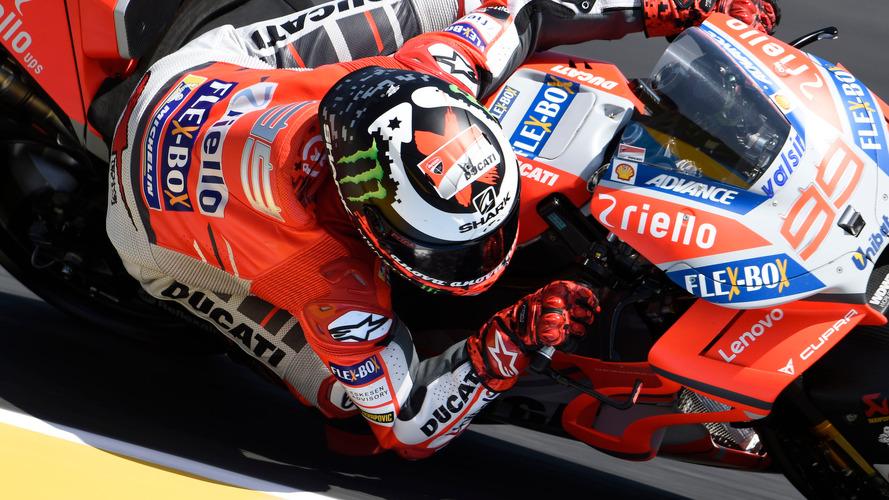 Lorenzo busca acomodo en la Yamaha de Zarco