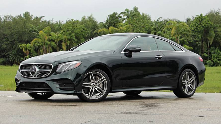 2018 Mercedes-Benz E-Class Coupe Review: Smooth Operator