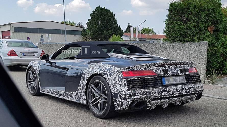 Audi R8 Spyder kamuflajlı olarak görüntülendi