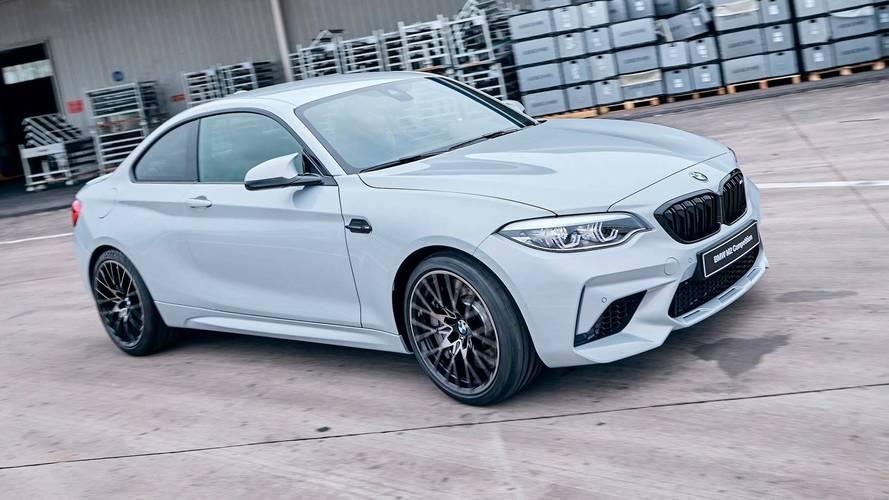 BMW M2 Competition'ın yeni fotoğraflarına bir göz atın