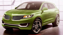 Lincoln MKX production version render