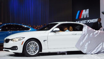 BMW 4-series Convertible world debut in L.A.