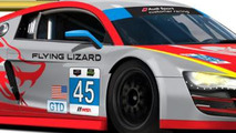 Flying Lizard Motorsports Audi R8 LMS #45