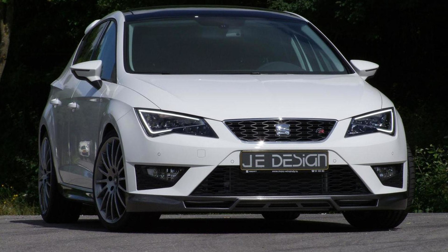 Seat Leon FR gets tuned by JE Design