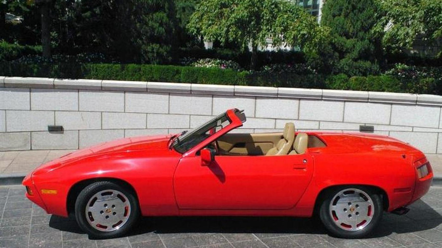 Rare 1981 Porsche 928 Convertible by Carelli Design listed on eBay