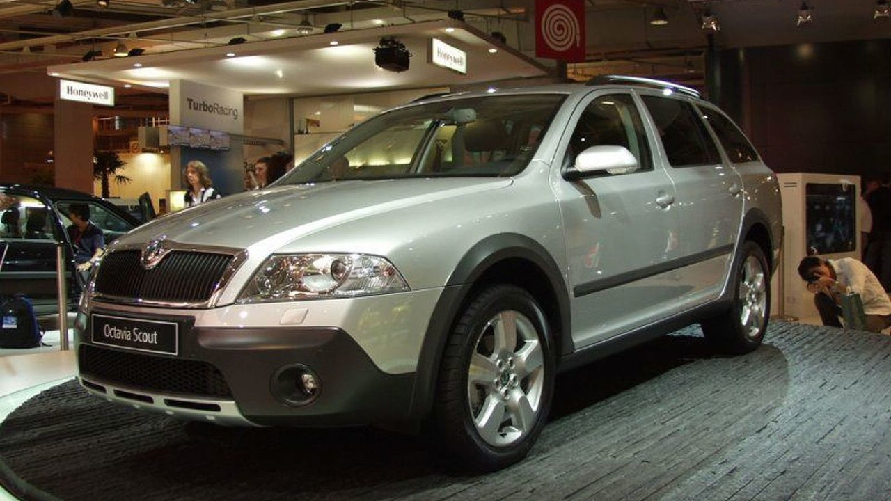 Skoda Octavia Scout at Paris