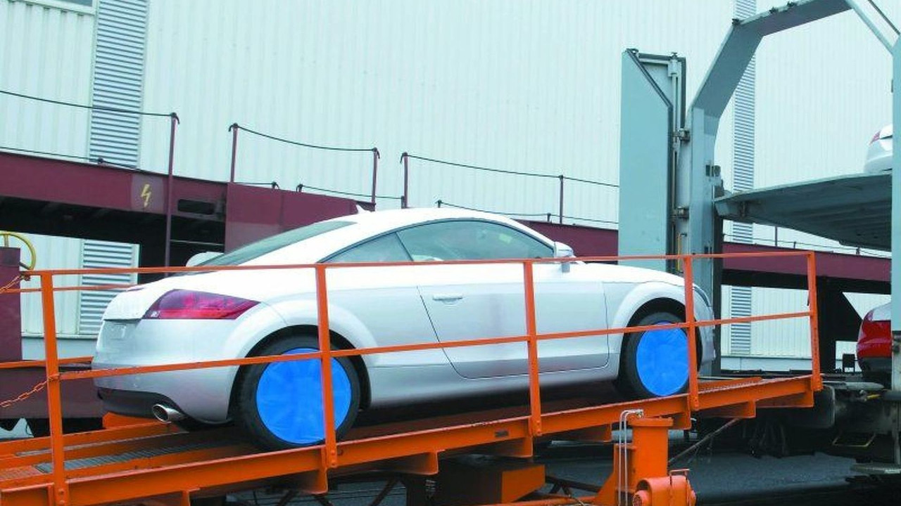 Delivery of the Audi TT Coupe