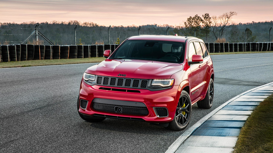 Un Jeep Grand Cherokee Trackhawk de plus de 1000 ch !