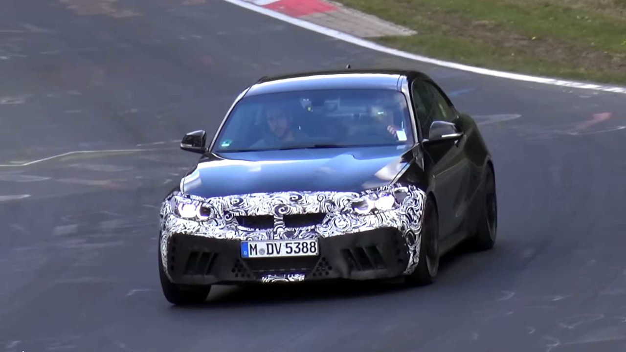 Vídeo espía BMW M2 CS