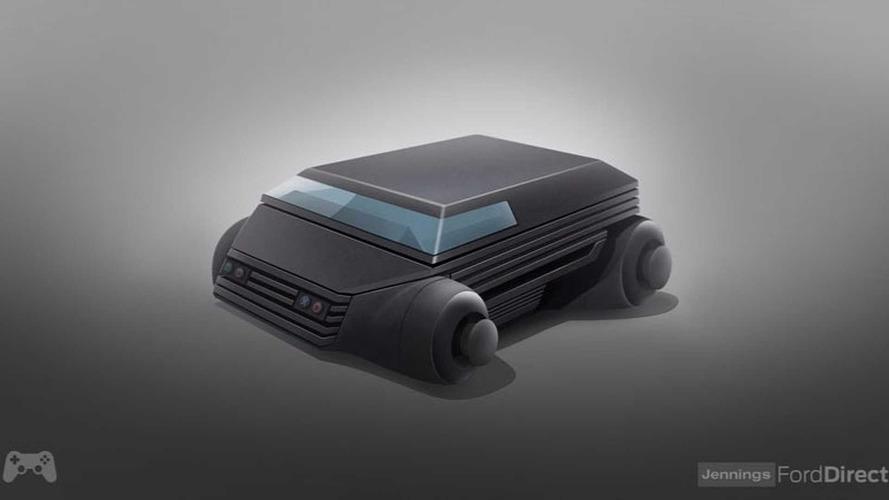 Oyun konsolu temalı otomobiller