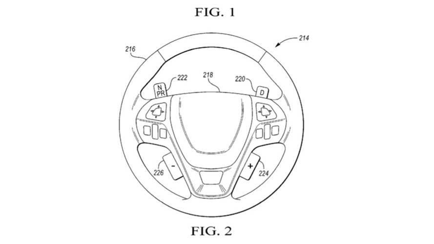 Ford's Steering Wheel-Mounted Gearshift Patent Confuses Us