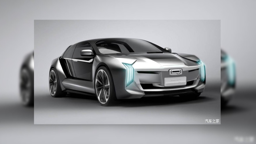 Qoros Koenigsegg Model K-EV Reveals Its Futuristic Shape