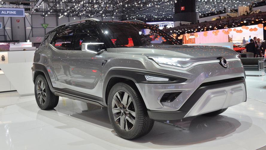 Genève 2017 - Ssangyong XAVL, l'étonnant concept de SUV 7 places