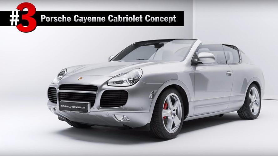 Top 5 Porsche Concept Cars
