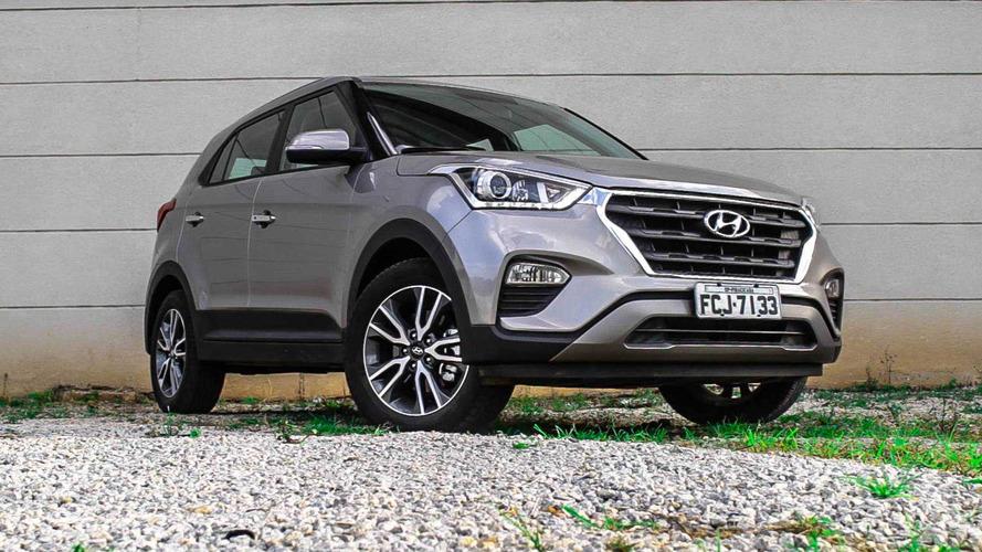 Hyundai celebra 15 mil Creta vendidos em 2017