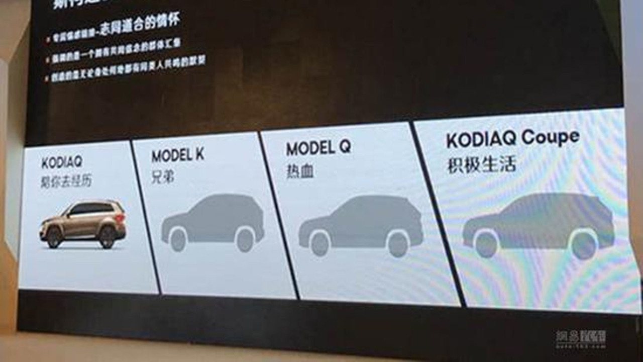 Skoda SUV Çin slaytlar