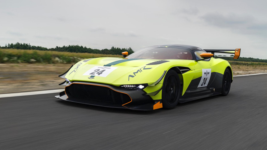 Aston Martin Vulcan AMR Pro Makes Goodwood Debut