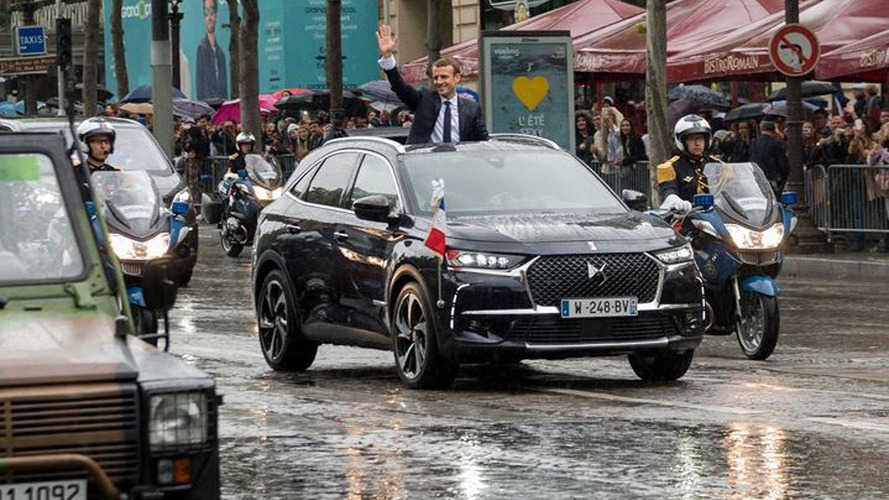 Quelle sera la voiture présidentielle d'Emmanuel Macron ?