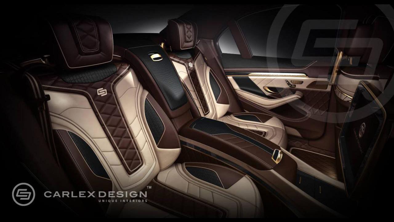 Mercedes Class S, interni di Carlex Design